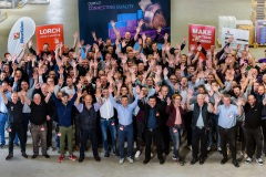 Groepsfoto Lorch evenement-enthousiasme