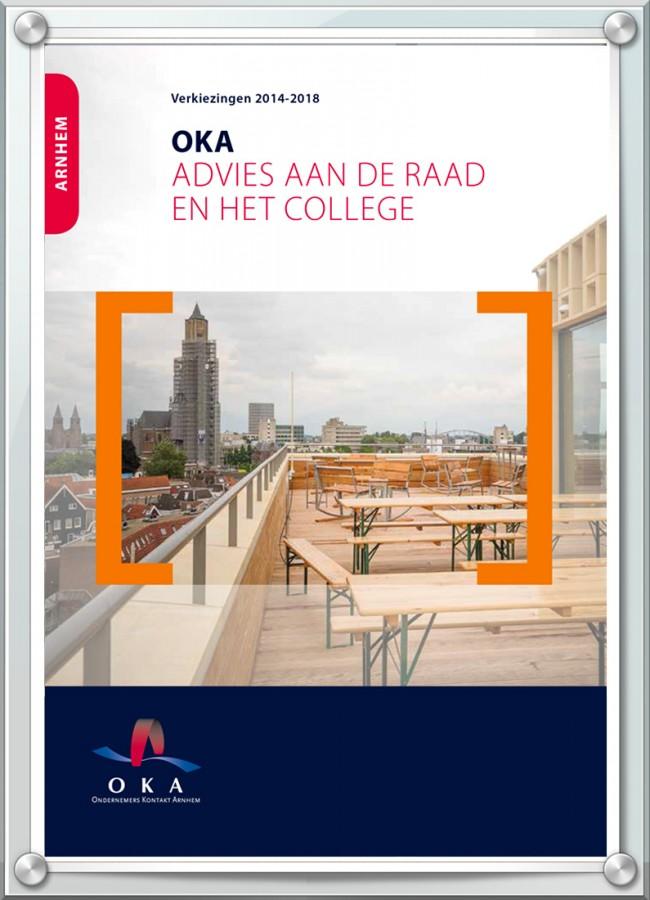 cover Ondernemers Kring Arnhem advies aan de raad