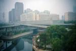 Beijing vanuit de bus