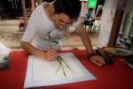 chineese bamboe schilder
