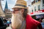 man met karakteristiek baard