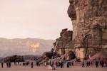 solomons-pillars and group sunset