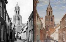 oude Eusebiustoren-schilderij
