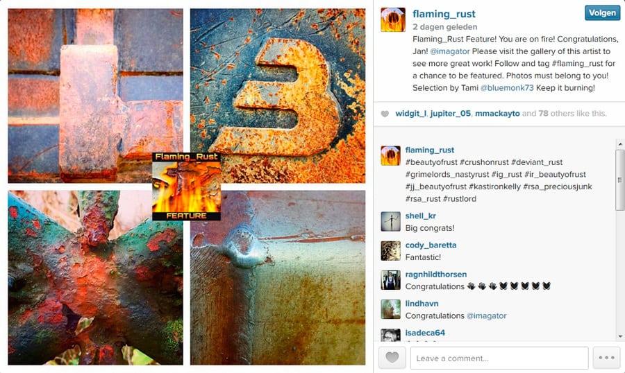 featured on Instagram