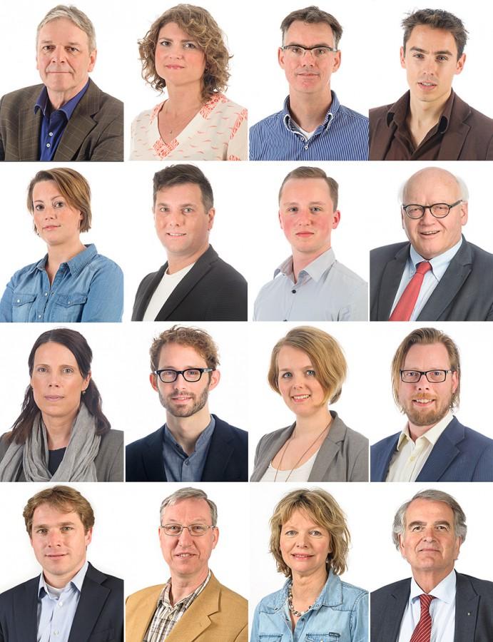 D66 fractie in de Fotostudio