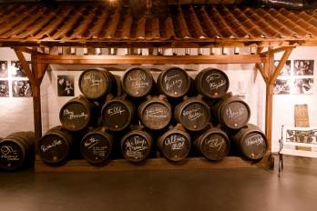 wijnvaten kelder