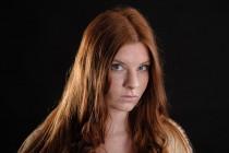portret fotografie rood harige